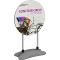 Contour Outdoor Sign Circle - Water Base